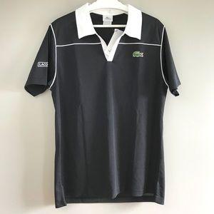 Lacoste mens sport black polo shirt tennis golf 5